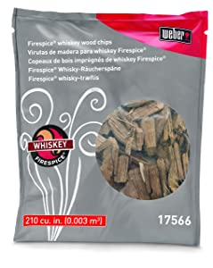 Weber Stephen Products 17566 Natural Organic Whiskey Wood Chip, 3 lb, N