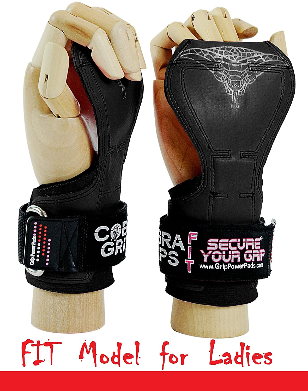 【25%OFF】 (グリップパワーパッド) Grip Power Pads®コブラグリッププロ ウェートリフティング用手袋 Rubber パワーリフティングフックに代わる頑丈なストラップ デッドリフト用 ボディビル向け 調節ネオプレンパッド入りリストラップサポート Black ボディビル向け B06X94CDDS FIT Black Rubber FIT Black Rubber, 犬服専門店TambedyDogWear:918667ab --- arianechie.dominiotemporario.com