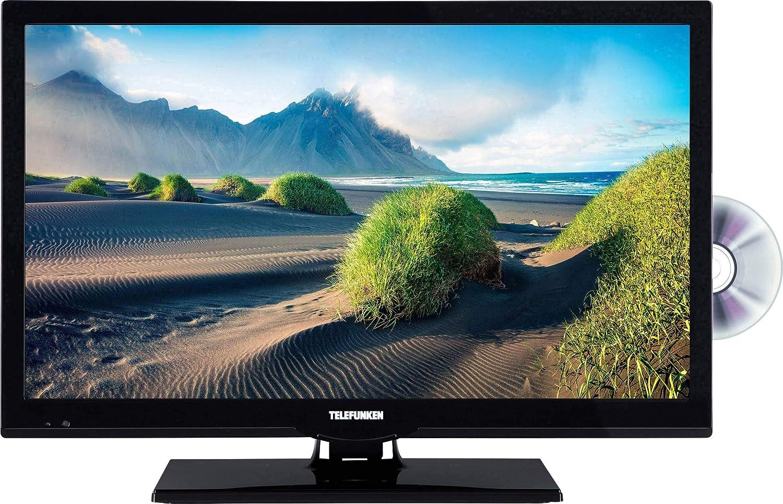 Telefunken L22F275M4DI LED-TV 56cm 22 Zoll EEK A+ DVB-T2, DVB-C, DVB-S, Full HD, DVD-Player, Ci+ SCH: Amazon.es: Electrónica