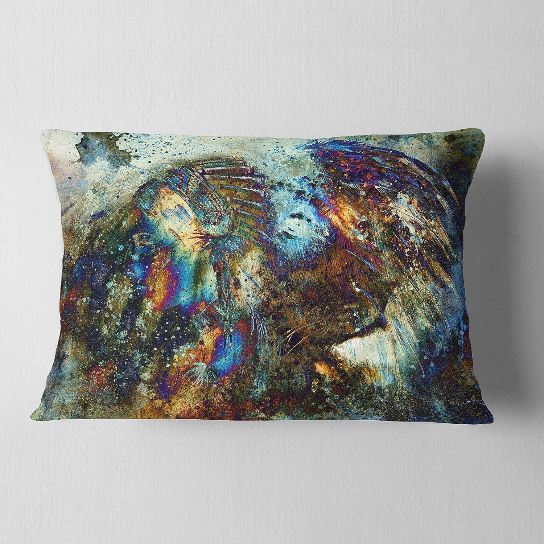 Kess InHouse Iris Lehnhardt Water Droplets Purple Lilac Bed Runner