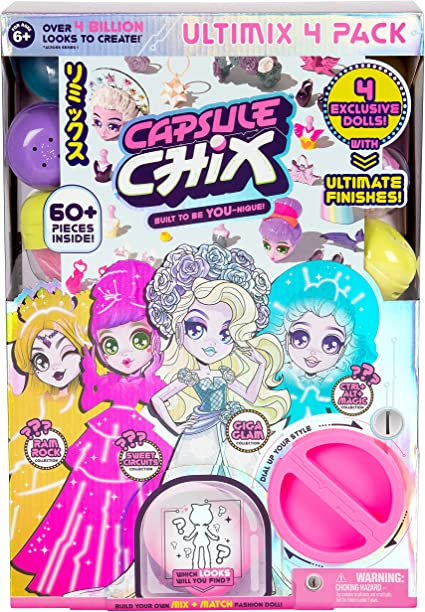 NEW Chix Ram Rock Collection,Doll with Capsule Machine /& Accessories FAST SHIPP