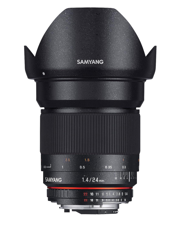 Samyang Objetivo para Canon distancia focal fija mm diámetro de mm negro
