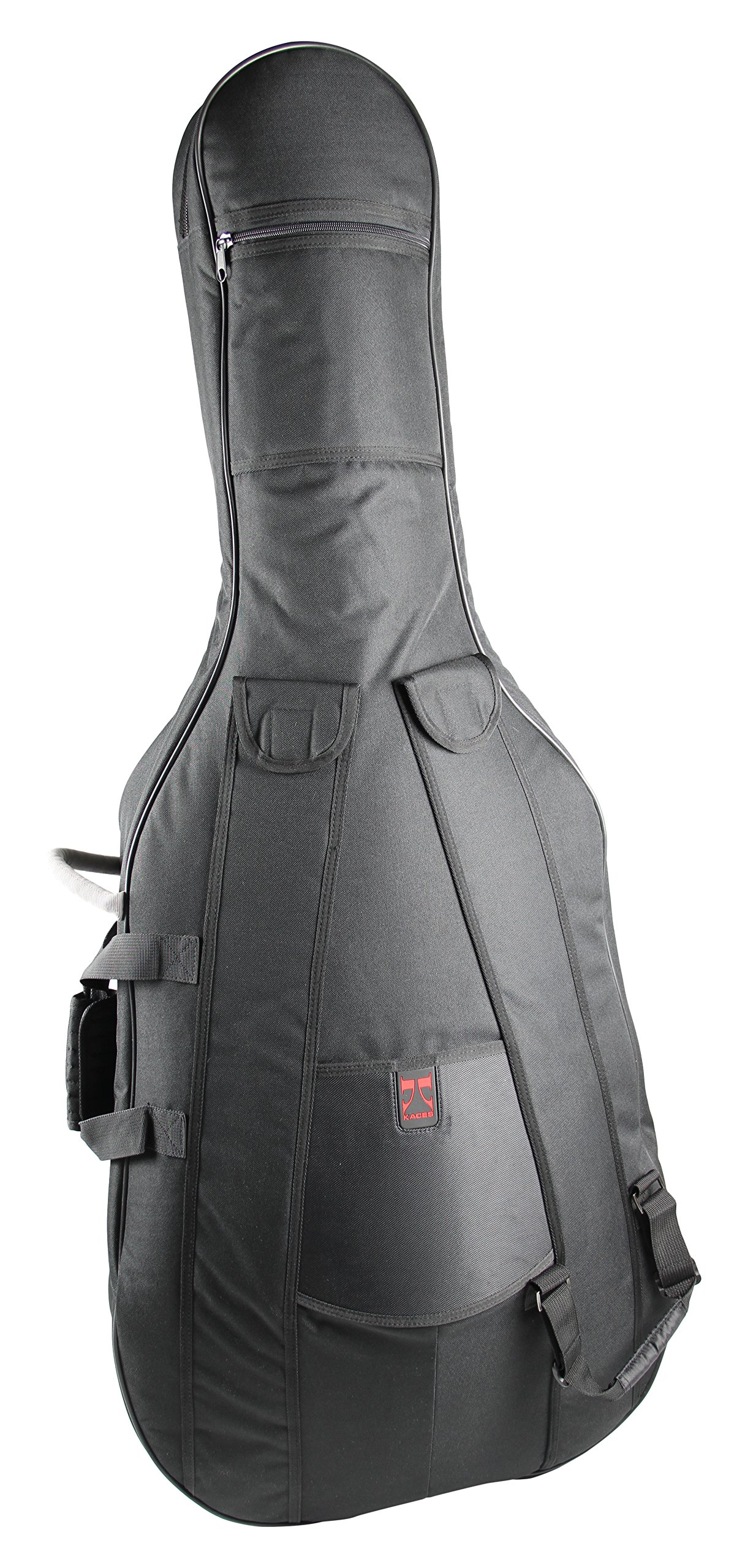 Kaces KCB3/4 3/4 Size Symphony Grade Cello Bag