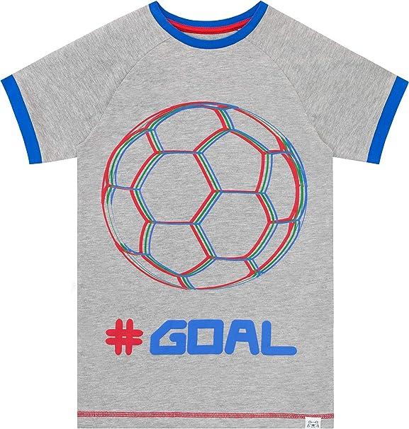 Threadrock Big Boys Soccer Player Typography Youth T-Shirt