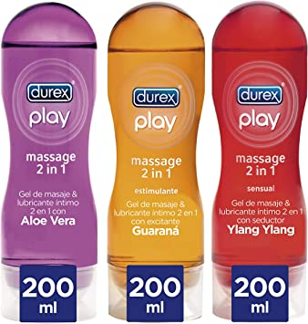 Lubricantes Sexuales Massage Pack 3 Unidades (Pack de 3): Amazon ...