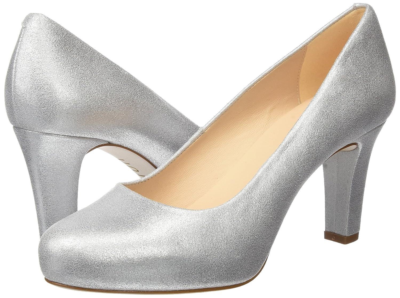 Unisa Damen Numis_17_MTS Pumps Silber (Silver) (Silver) Silber f380e3