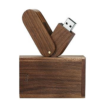 USB-Stick aus solidem Holz, Highspeed USB 2.0: Amazon.de: Computer ...