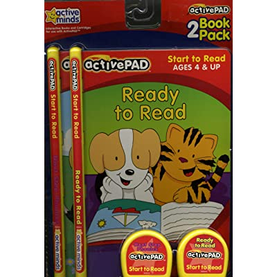 ActivePad 2 Book Pack Ready to Read & Next Step Phonics part of the Start to Read Series: Toys & Games