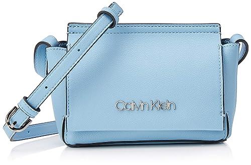 Flap Mujer Calvin Crossbody Bolsos Bandolera Stitch Klein 4R5L3Aj