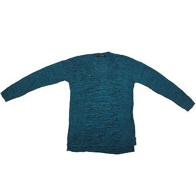 Ellen Tracy 3/4 Sleeve V-Neck Pullover Sweater