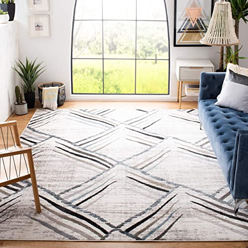 Safavieh Amsterdam Collection AMS112A Modern Non-Shedding Stain Resistant Living Room Bedroom Area Rug