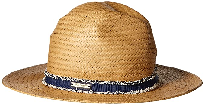 Vince Camuto Women s Frayed Panama Hat 439d6612bfc