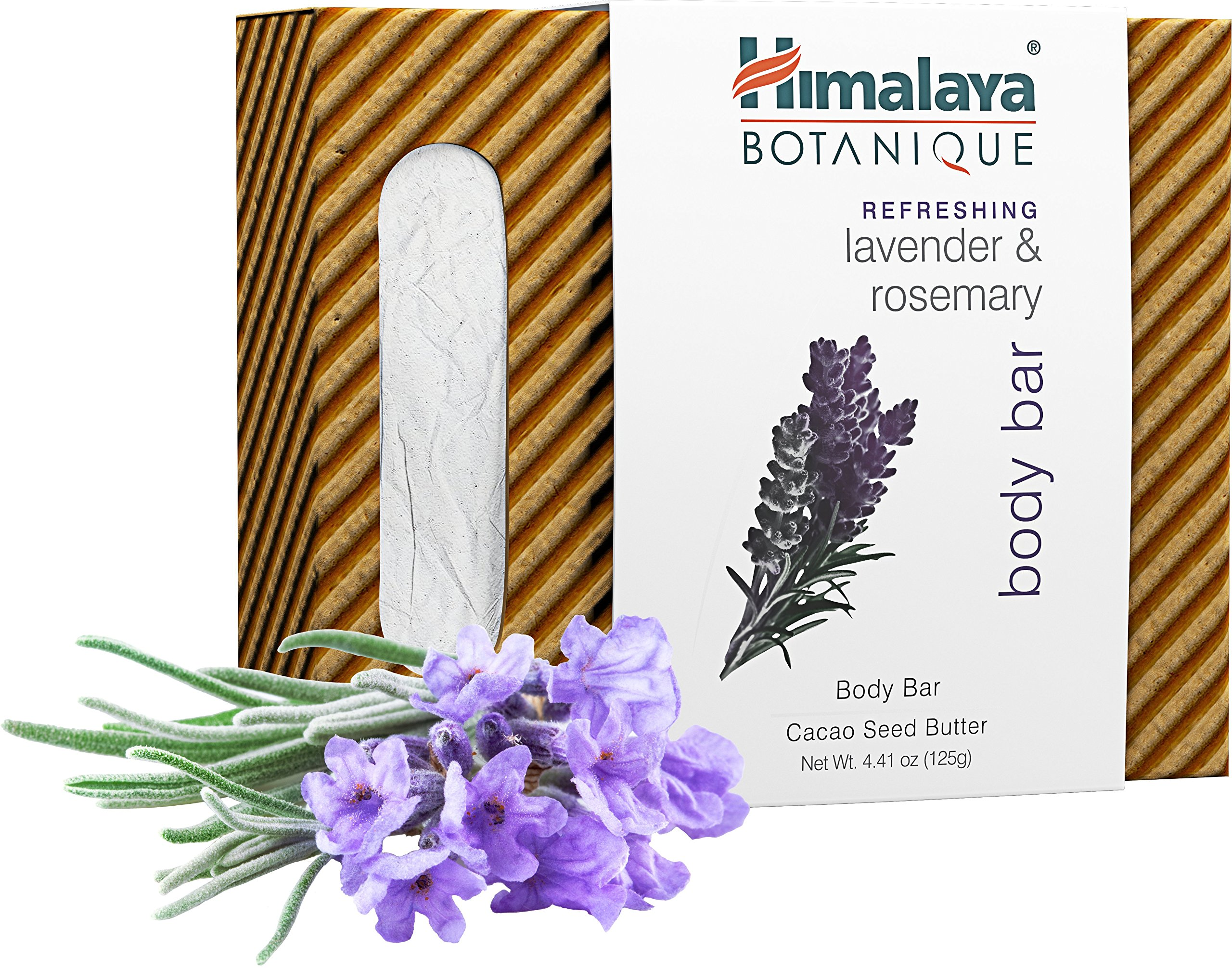 Amazon Com Himalaya Botanique Lavender Rosemary Handcrafted Bar
