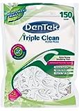 DenTek Triple Clean Floss Picks   No Break Guarantee   150 Count