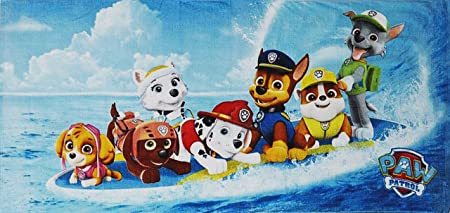 Paw Patrol Skye Bath Beach Towel  Kids New