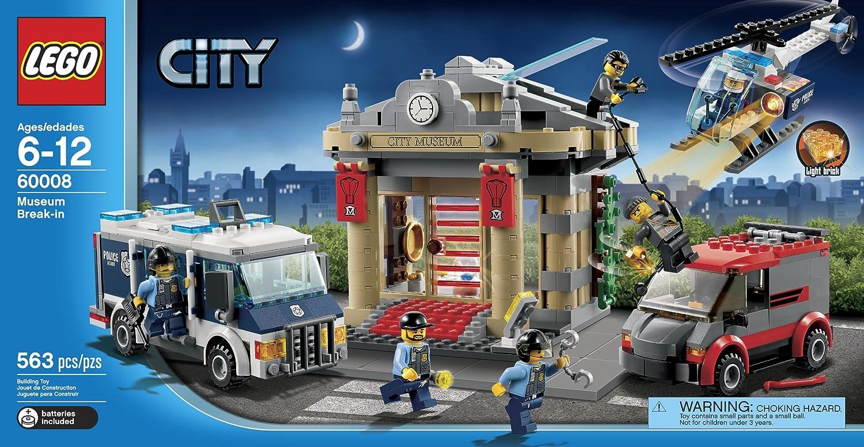 Lego 60008 City Museum Break-In - Lego - Lego -outofstock
