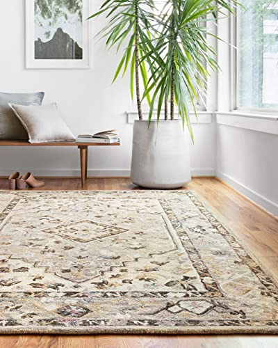 Loloi ll Beatty Collection Traditional Oriental Area Rug, 7 9 x 9 9 , grey