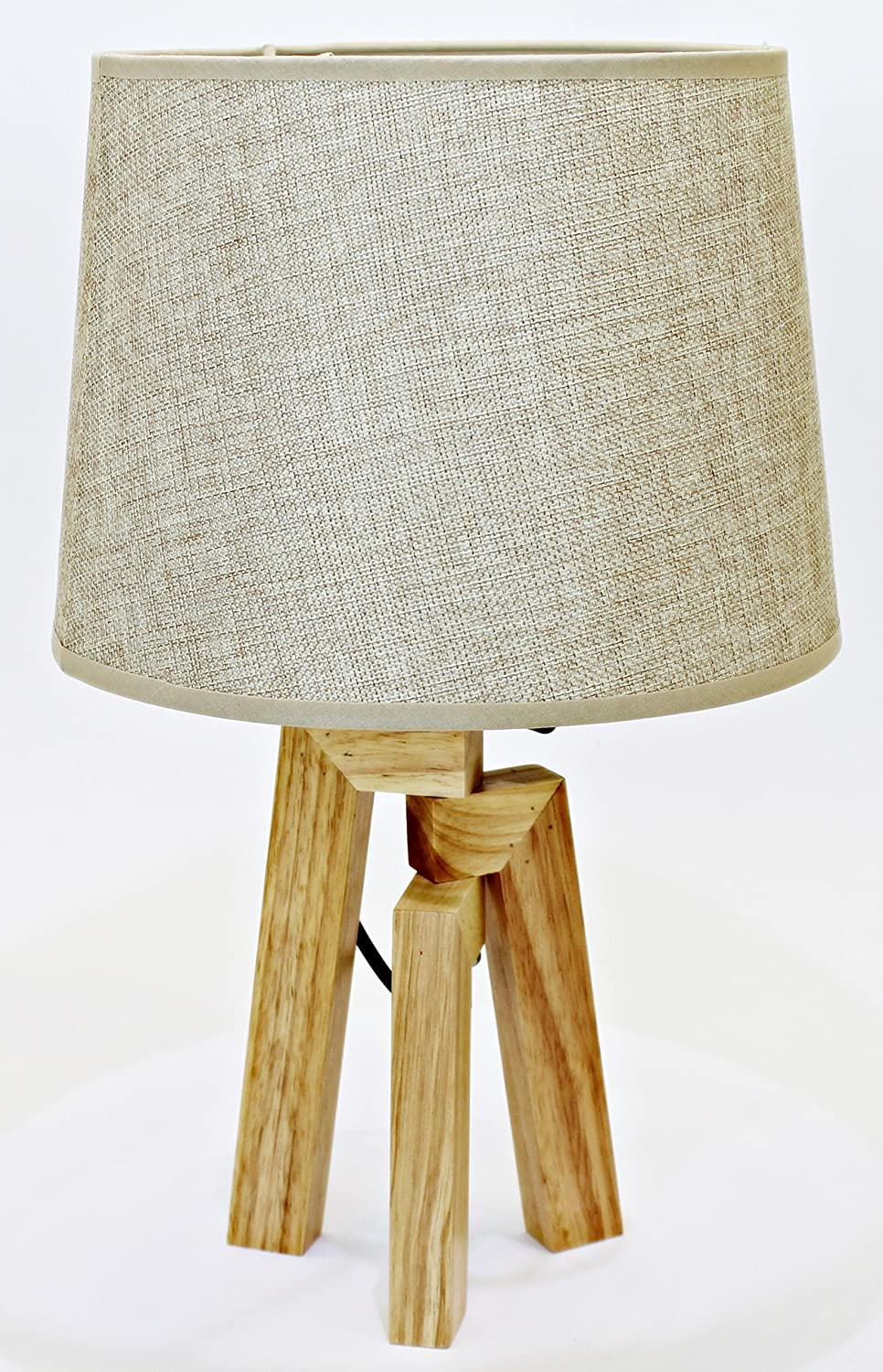 Deltabrinca Lights - Lámpara Mesa Wood Beige