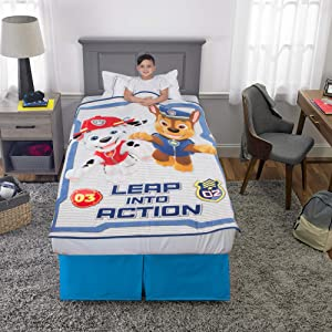 "Franco Kids Bedding Super Soft Plush Throw, 46"" x 60"", Paw Patrol"