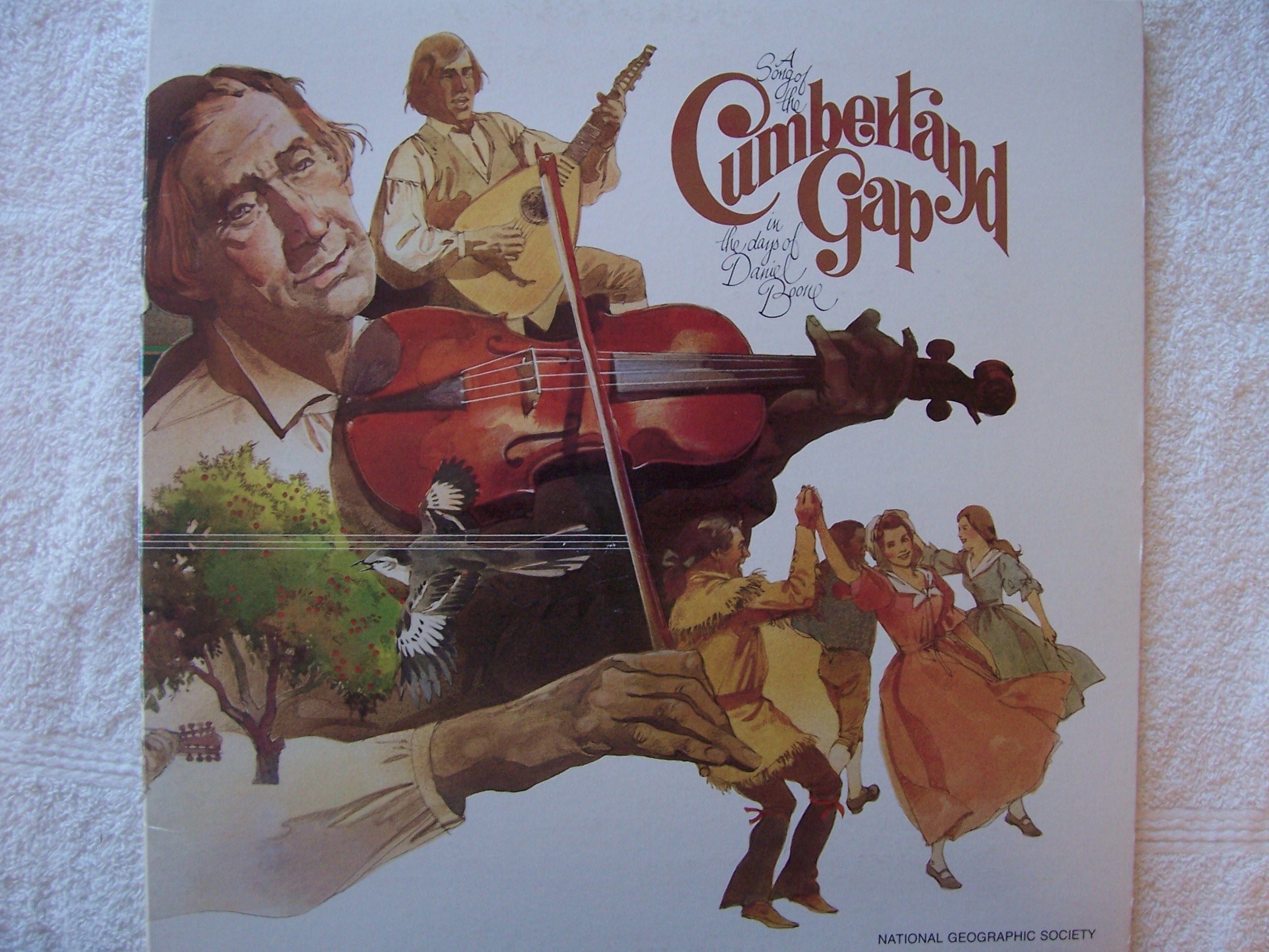 A Song of the Cumberland Gap in the Days of Daniel Boone