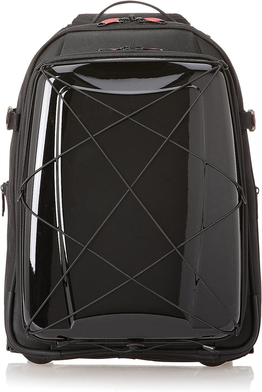 Hideo Wakamatsu Laptop Backpack Trolley With Wheels Black Amazon Co Uk Luggage