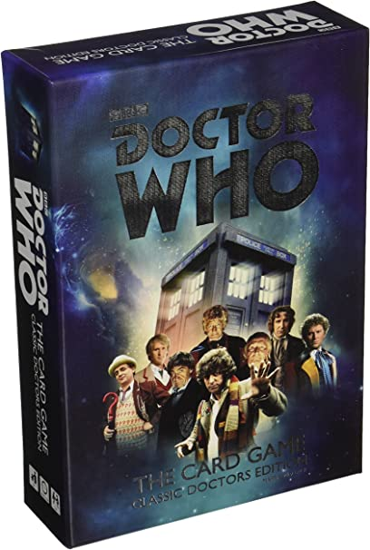Classic Doctors Edition Doctor Who the Card Game englisch neu /& OVP