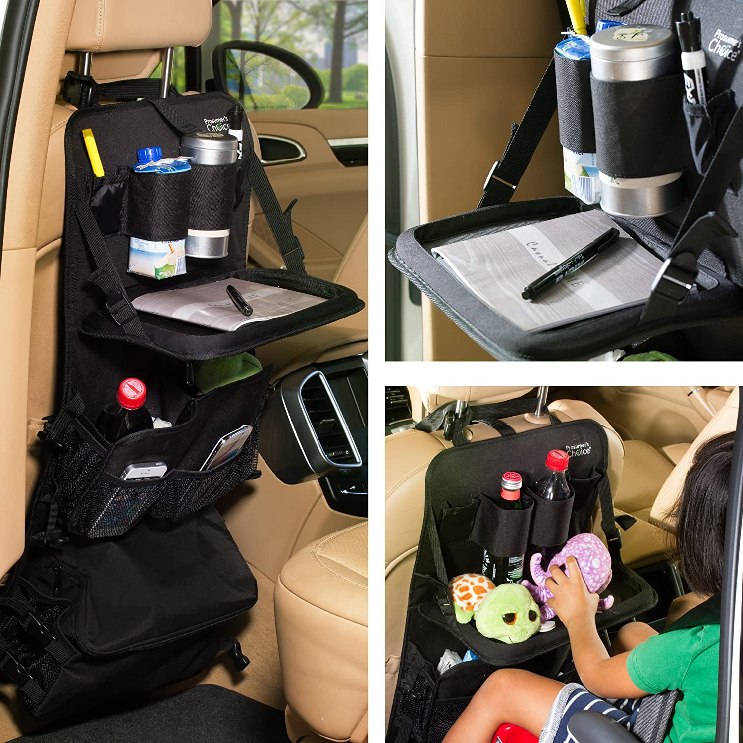 Prosumers Choice All-in-one Car Seat Organizer with Tablet Holder and Cooler Aleratec