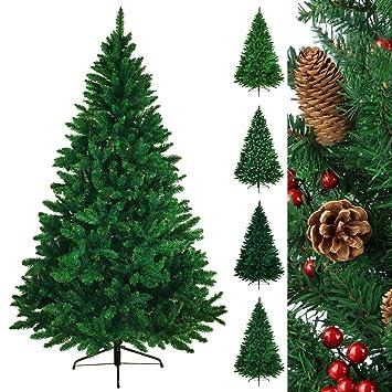 rbol navideo rbol de navidad artificial abeto wonderland en 5 tamaos y 3 colores de bb - Arbol De Navidad Artificial