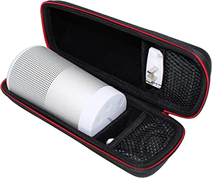 KOKAKO EVA Duro Caso Viaje Estuche Bolso Funda para Bose SoundLink Revolve Bluetooth portátil.Fits USB Cable y Pared Cargador.: Amazon.es: Electrónica