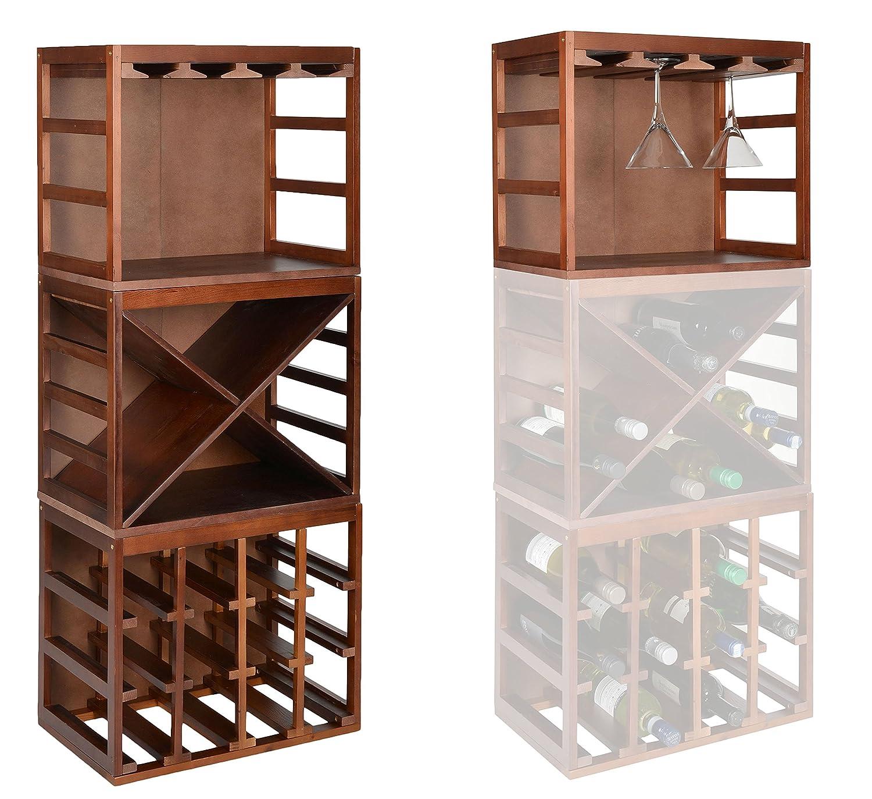 ts-ideen 1x Weinglashalter Gläserregal für ca. 8 Weingläser Wein ...