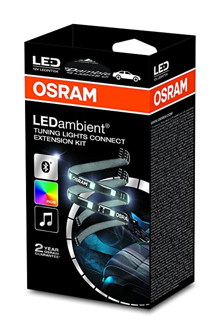 OSRAM LEDINT104 LED Ambient Tuning Lights Connect, Extension-kit