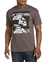 Star Wars Stormtroopers To Arms Big & Tall Short Sleeve Graphic T-Shirt
