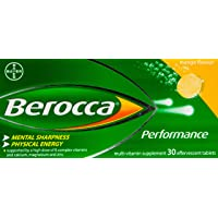 Berocca Performance Effervescent, Mango, 30ct