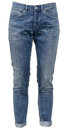 03fc1408a54 Dondup Jeans George blu Uomo Stretch Elasticizzati UP232DS0107UT02G 800  Nuova Collezione Autunno Inverno 2018 2019