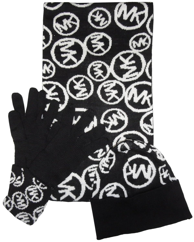 695440ab1c0 Michael Kors Women s Circle Logo Knit Scarf