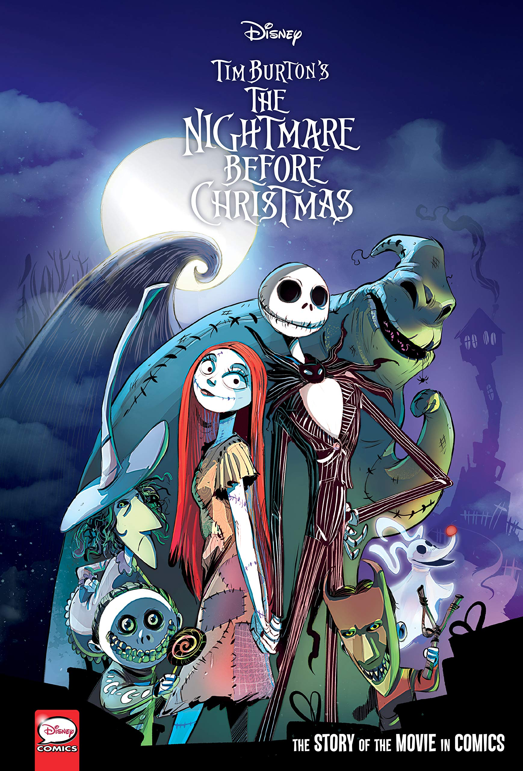 DISNEY NIGHTMARE BEFORE CHRISTMAS MOVIE IN COMICS HC Disney the Nightmare Before Christmas: Amazon.es: Ferrari, Alessandro, Narciso, Massimiliano: Libros en idiomas extranjeros