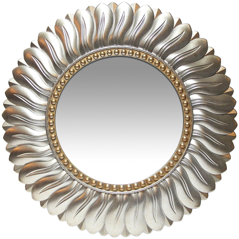 Infinity Instruments Marseille Round Mirror, 21.5 21.5 14972AG