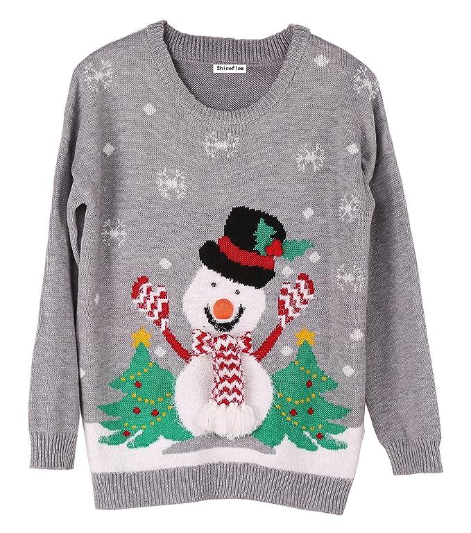 3D Snowman Sweater