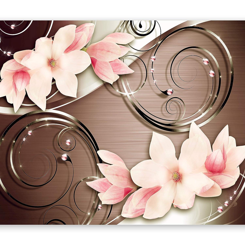 Murando - Fototapete 400x280 cm - Vlies Tapete - Moderne Wanddeko - Design Tapete - Wandtapete - Wand Dekoration - Blaumen Magnolie b-A-0298-a-c B00Y8B5MNC Wandtattoos & Wandbilder