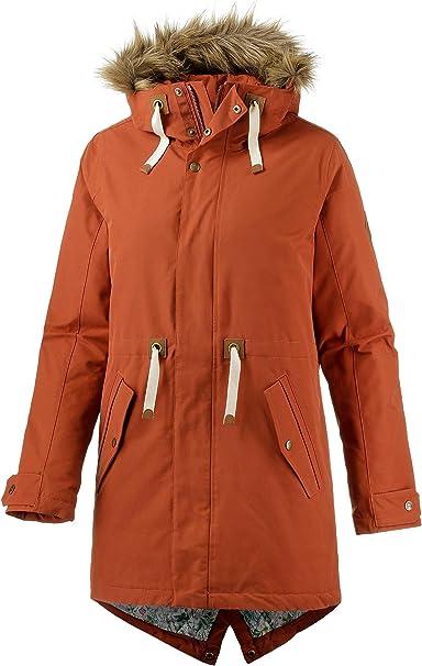 burton saxton jacke für damen rot