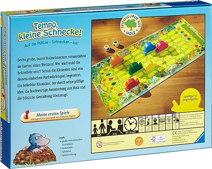Tempo Kleine Schnecke 21420 Ravensburger Erste Spiele Das