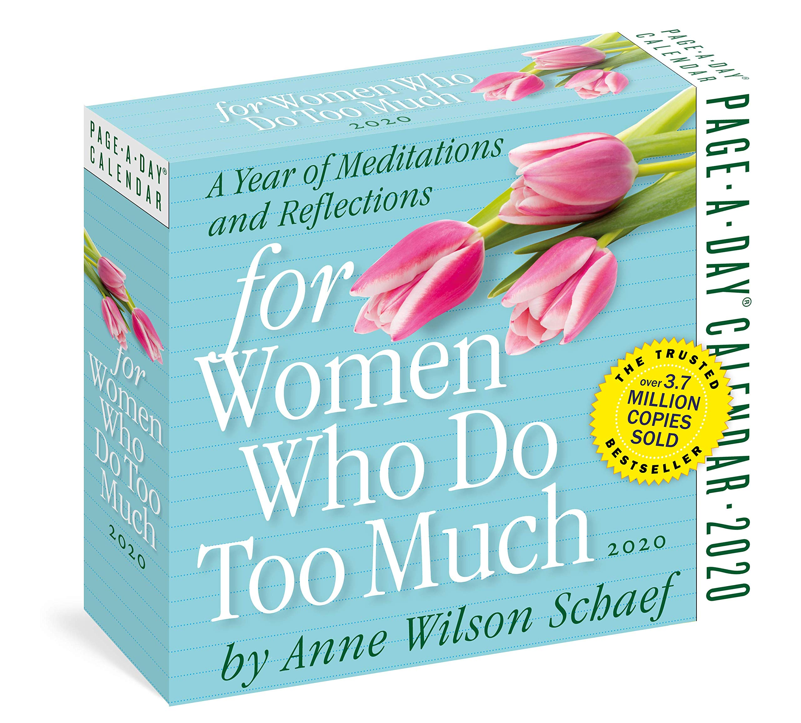 5.5 x 6 Inches for Women Who Do Too Much Page-A-Day Calendar 2020