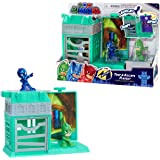 PJ Masks Nighttime Micros Trap & Escape Playset, Gekko vs Night Ninja