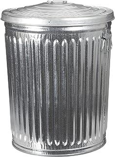 amazoncom behrens 31gallon trash can with lid lidded home storage bins patio lawn u0026 garden
