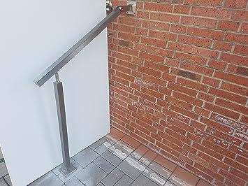 Escaleras barandilla 800 mm Acero Inoxidable pasamanos barandillas Escaleras Sara Acero Inoxidable mano unidad pared pasamanos V2 A material de montaje de Würth Bayram®: Amazon.es: Bricolaje y herramientas