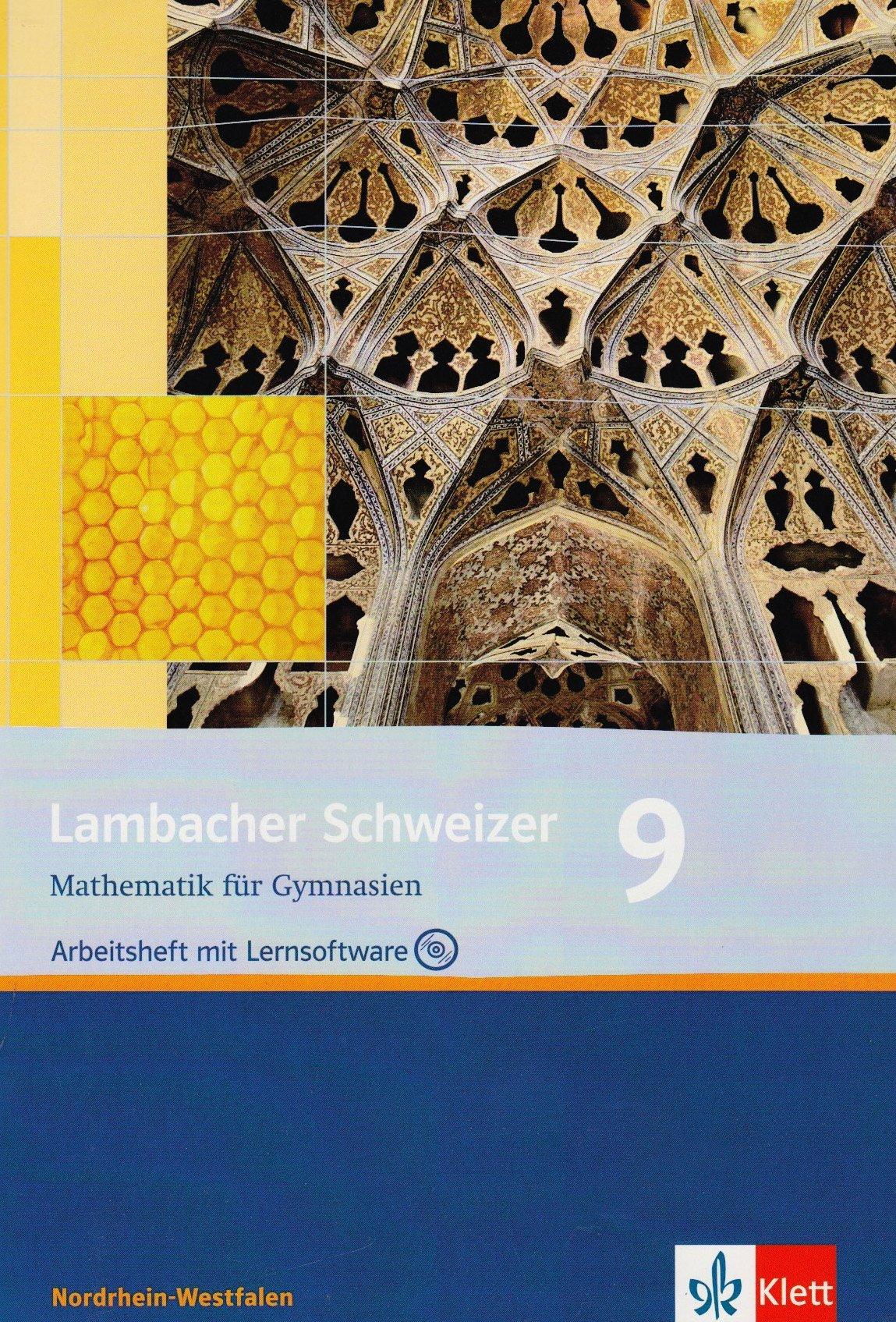 Lambacher Schweizer - Ausgabe Nordrhein-Westfalen - Neubearbeitung / Arbeitsheft plus Lösungsheft mit Lernsoftware 9. Schuljahr