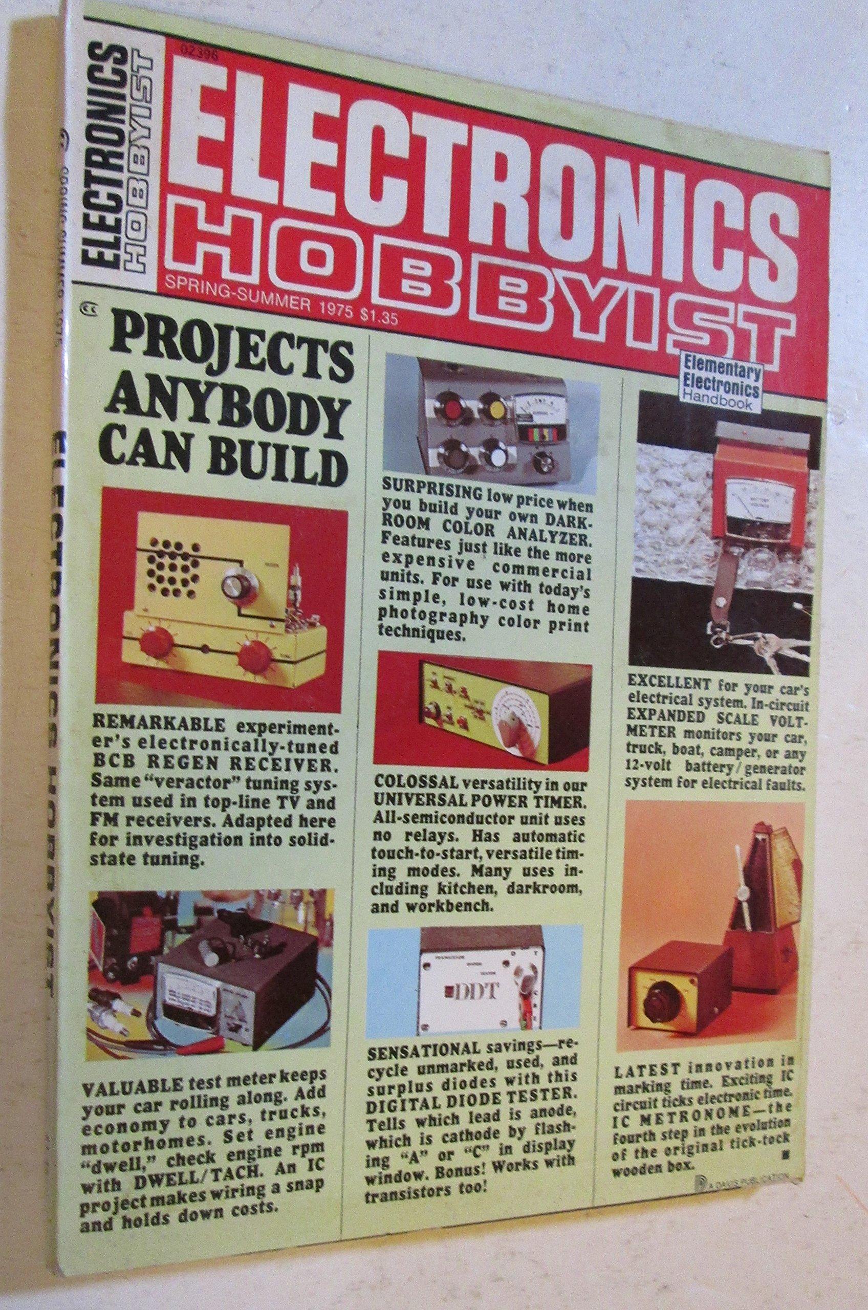 Electronics Hobbyist Magazine Spring Summer 1975 Davis Publications Beginning Circuitry Build A Metronome Inc 0737029964005 Books