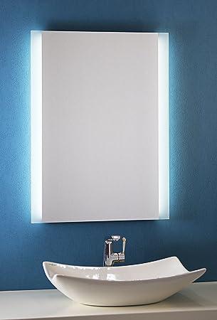 Bricode Süd Badspiegel Persis (B) 60cm x 80cm groß Badezimmerspiegel ...