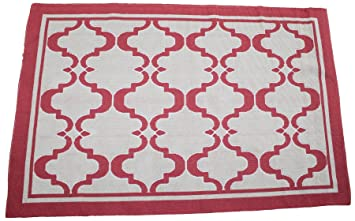 Amazon Com Cotton Rug Machine Washable Area Rugs Contemporary