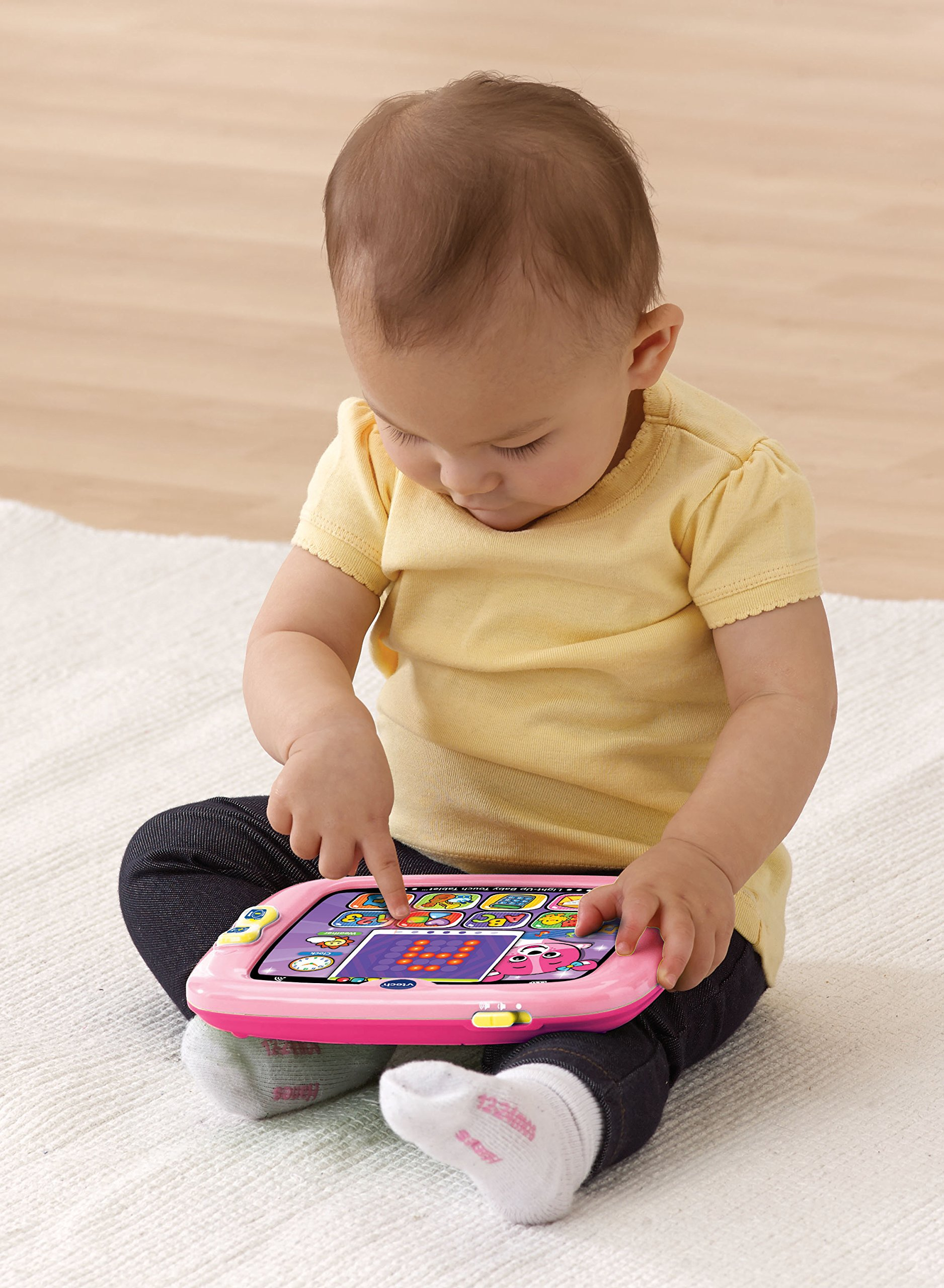 VTech Light-Up Baby Touch Tablet, Pink by VTech (Image #2)